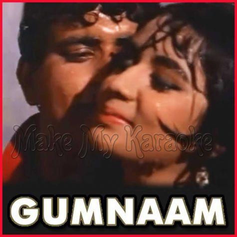 Jaan Pehchaan Ho Jeena Asaan Ho - Gumnaam (MP3 and Video Karaoke Format)