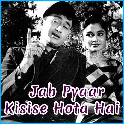 Ye Aankhein Uff Yumma - Jab Pyaar Kisise Hota Hai (MP3 and Video Karaoke Format)