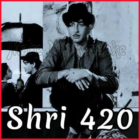 Mera Joota Hai Japani - Shri 420 (MP3 and Video Karaoke Format)