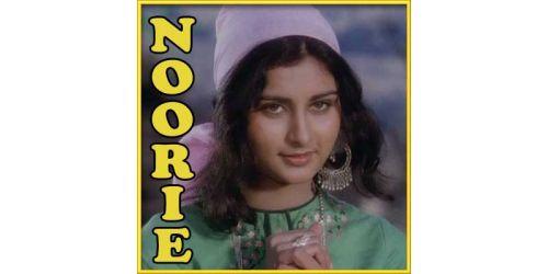 Noorie | Lata Mangeshkar & Nitin Mukesh | Download Hindi Video Karaoke ( with lyrics)