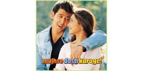 Jaane dil mein - Mujhse Dosti Karoge (Video Karaoke  Format)